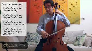 Michael Katz: Bright Sheng - Seven Tunes Heard in China, II. Guessing Song