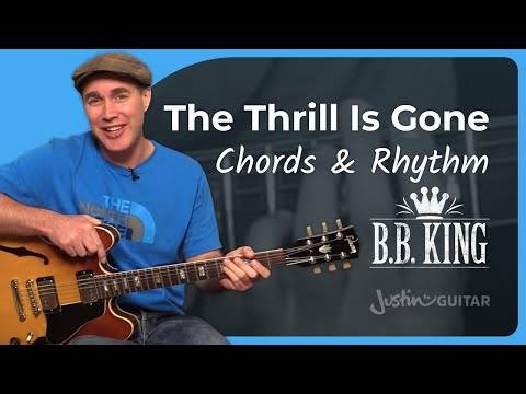 The Thrill Is Gone (Chords & Rhythm) - B.B. King - Guitar Lesson Tutorial (ST-352)