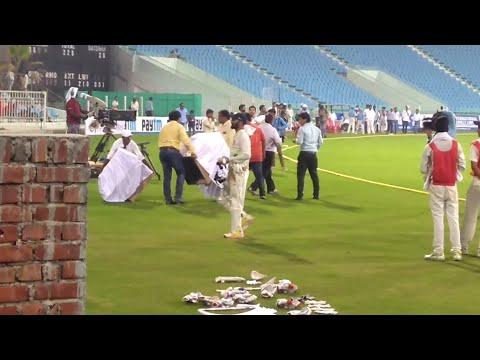 Dinesh Karthik handshake with Suresh Raina Ishant Sharma Etc After winning Duleep trophy final match