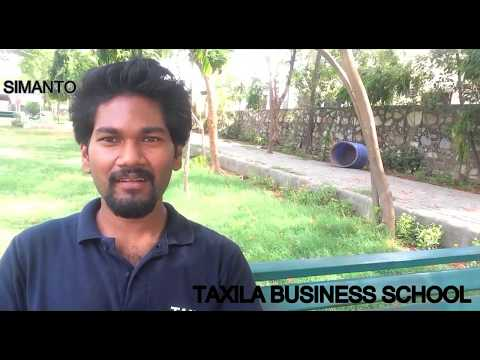 Tell me about yourself, Who am I: Taxila Business School Student