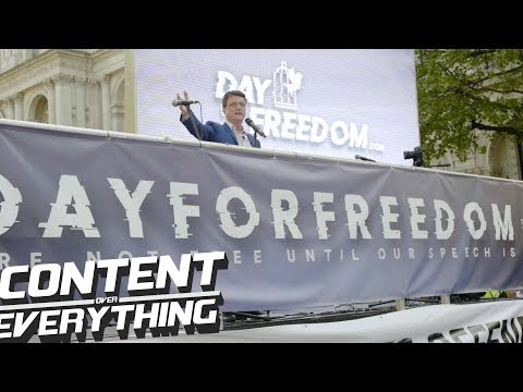 UKIP Leader Gerard Batten on | Free-speech & Hate-speech | The Left & Big Business | Islam #DayForFr
