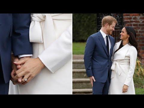 Meghan Markle's engagement ring has Diana's diamonds