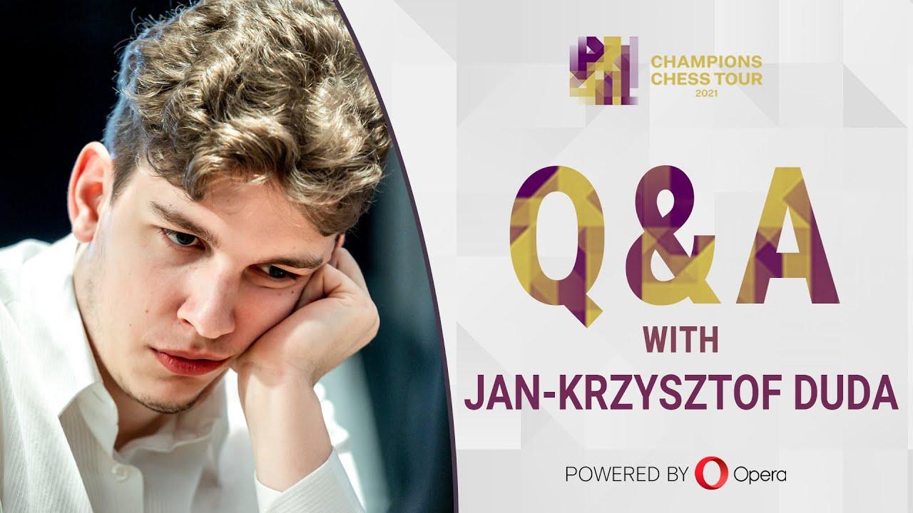Polish Q A With Jan Krzysztof Duda Youtube
