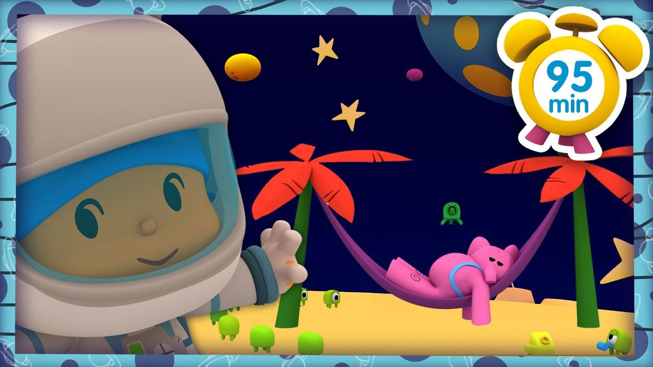 👽 POCOYO in ENGLISH - Martian Holidays [ 95 minutes ] | Full Episodes | VIDEOS and CARTOONS for KIDS