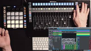 Marcus Huyskens— Combining workflows with ATOM and FaderPort in Studio One