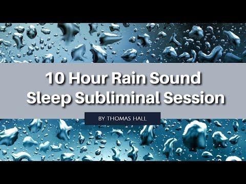 Be Positive & Learn to Love Yourself - (10 Hour) Rain Sound - Sleep Subliminal - By Thomas Hall