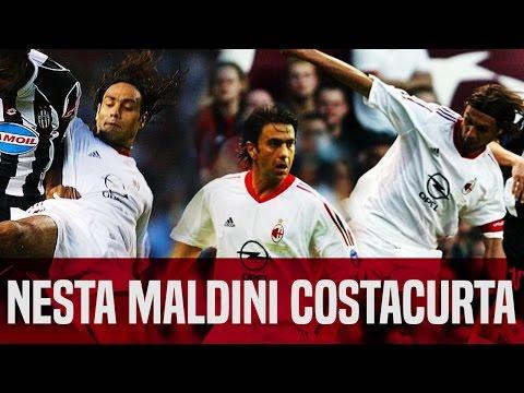 Nesta, Maldini & Costacurta vs Juventus 29/05/2003