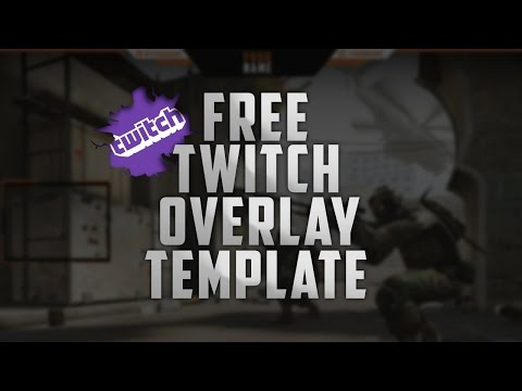 free twitch overlay template - free professional twitch overlay template editable