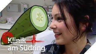 20-Jährige hat Spaß mit Gurke, um untenrum gut zu riechen! | Klinik am Südring | SAT.1 TV