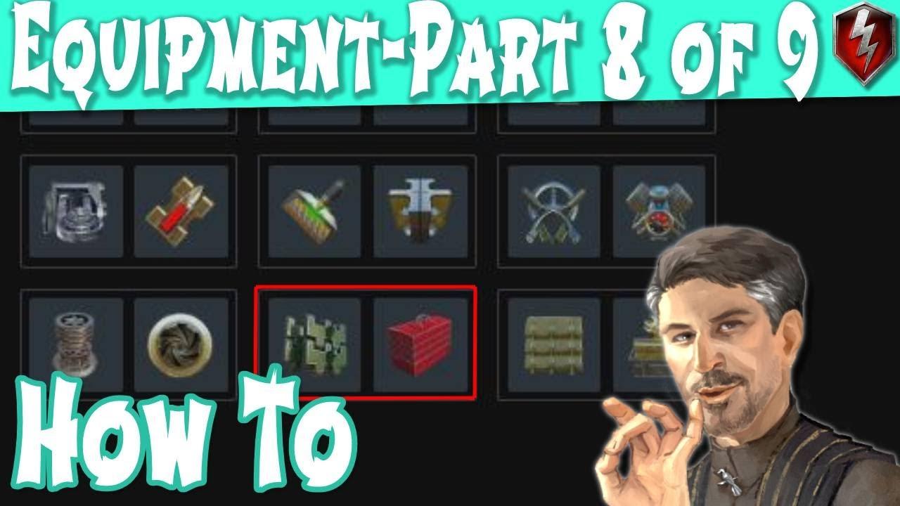 WOT Blitz Equipment Enhanced Tracks vs Tool Box Part 8 of 9 | World of Tanks Blitz
