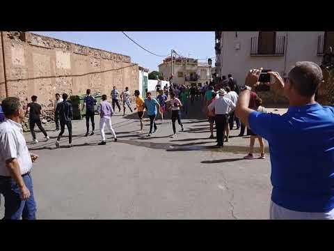 2 encierro de La Calahorra 2017
