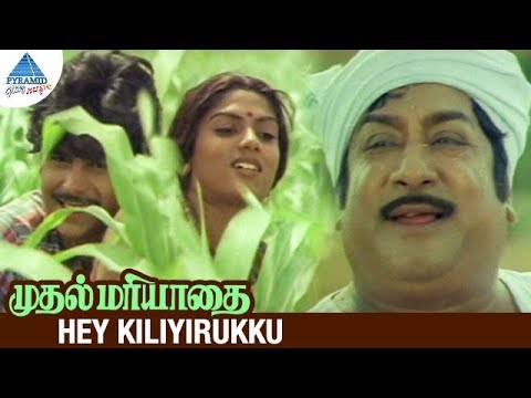 Muthal Mariyathai Tamil Movie Songs | Hey Kiliyirukku Video Song | Sivaji Ganesan | Ilayaraja