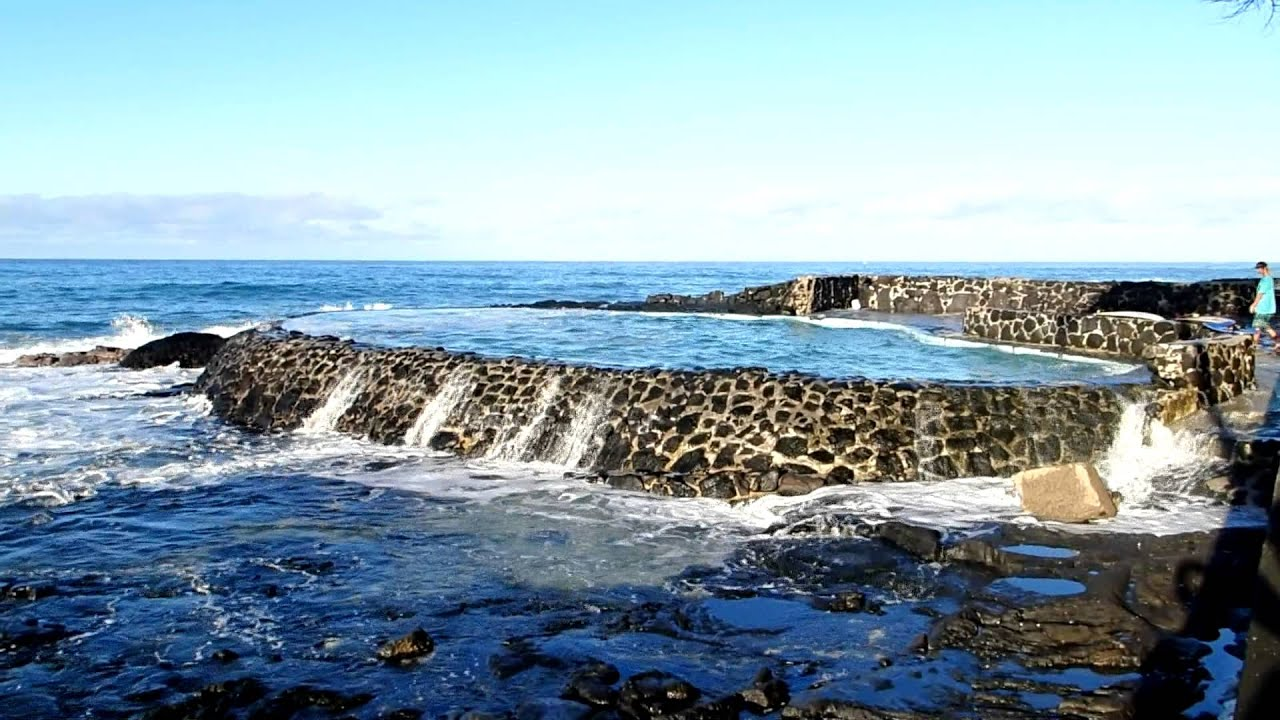 Kailua Kona Salt Water Pool Youtube