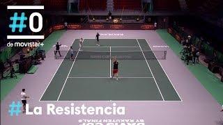 LA RESISTENCIA - Raúl Cimas e Ingrid García-Jonsson contra el tenis   #LaResistencia 14.11.2019