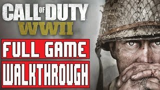 CALL OF DUTY WW2 Gameplay Walkthrough Part 1 FULL GAME No Commentary