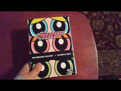 Powerpuff Girls 10th anniversary box set Unboxing