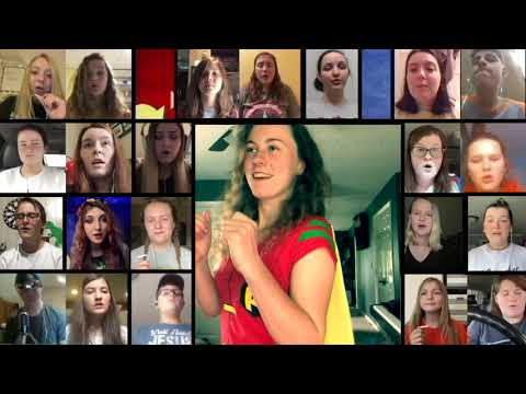 Upperman High School Virtual Choir - Something Just Like This
