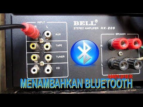 membuat amplifier menjadi bluetooth