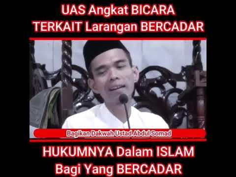 Ustadz Abdul Somad (Hukum Bercadar Bagi Wanita)