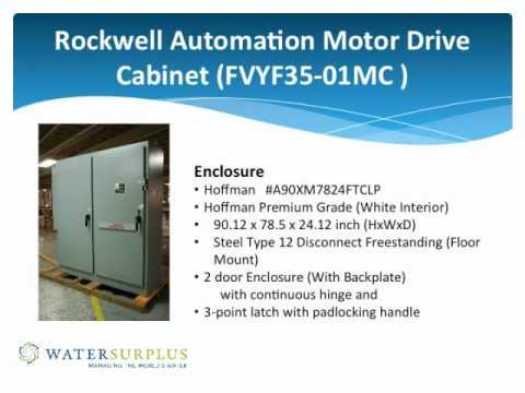 Rockwell Automation Motor Drive Cabinet Fvyf35 01mc