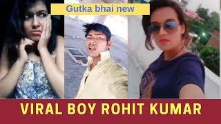 rohit kumar | gutka bhai | duet with beautiful girls of musically | joke tha bhai