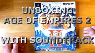 Age of Empires 2: The Age of Kings (PC Big box) Unboxing