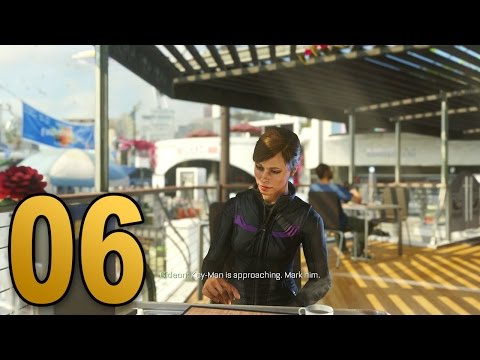 Advanced Warfare Walkthrough - Mission 6 - MANHUNT (Call of Duty Campaign Let's Play)