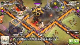 Clash Of Clans - War recap #27 - Warcorps 1.0 vs GhostZone (Th11)