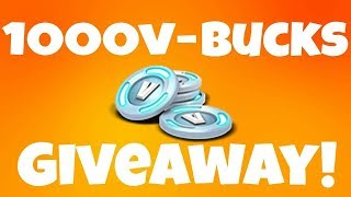 1000 V-BUCKS GIVEAWAY! TRIOS ONE DAY CUP STREAM! (FORTNITE: BATAILLE ROYALE) Victoires: 324