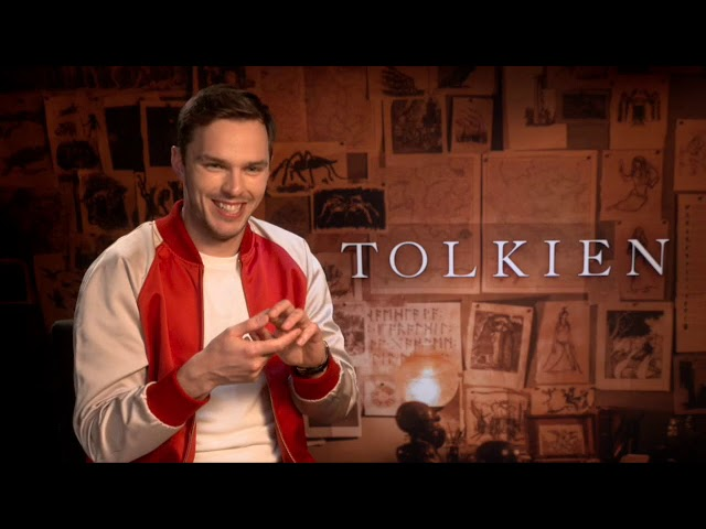 Nicholas Hoult is J.R.R. Tolkien: Talks Early Years and Love for Language