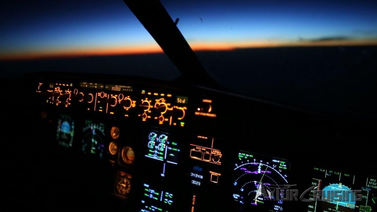 Views from the flight deck 4k airline pilot youtube - 4k cockpit wallpaper ...