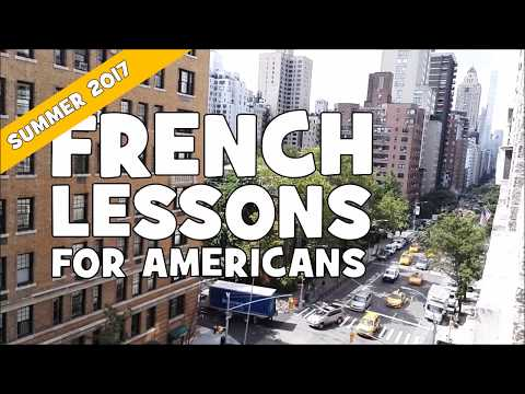French For Americans In 15 Days # Day 1