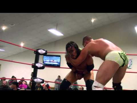 2014-10-04 Adam Cole vs. Chris Cooper -  Empire State Wrestling (ESW)