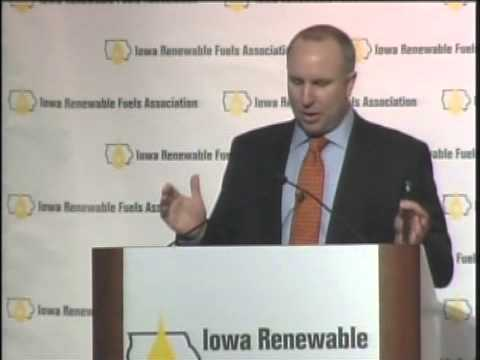 IRFA's Monte Shaw Speaking at the 2013 Iowa Renewable Fuels Summit