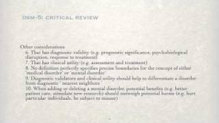 DSM-5: Critical Review - Part 2 Thumbnail