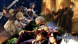 Kingdom Hearts 3 -  Multiple Team Storyline Concept