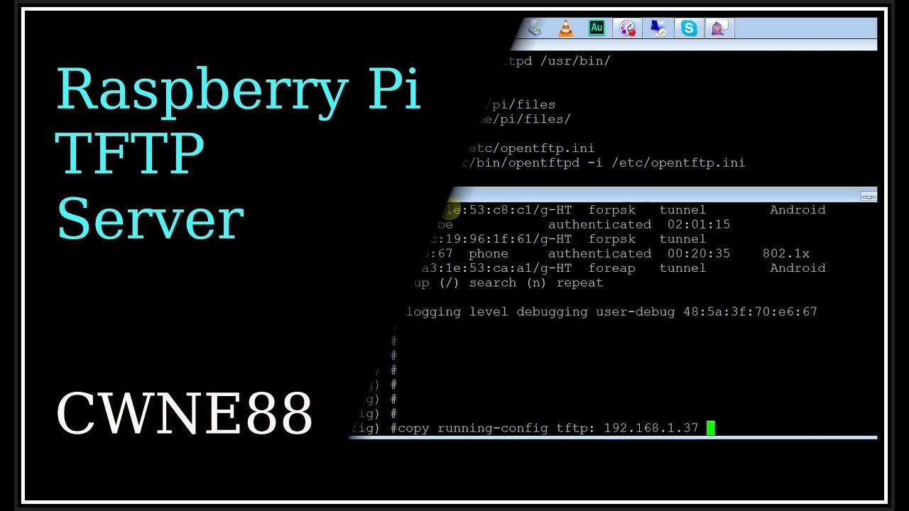 Raspberry Pi TFTP Server