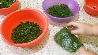 Заморозка зелени на зиму без отходов
