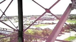 Pemandangan Kota Merauke Dari Atas Menara Air