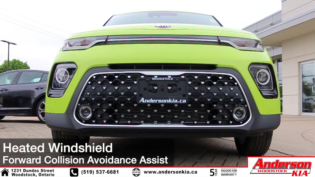 2020 Kia Soul Ex Space Green Features