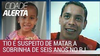 Tio é suspeito de matar sobrinha de seis anos no Rio de Janeiro