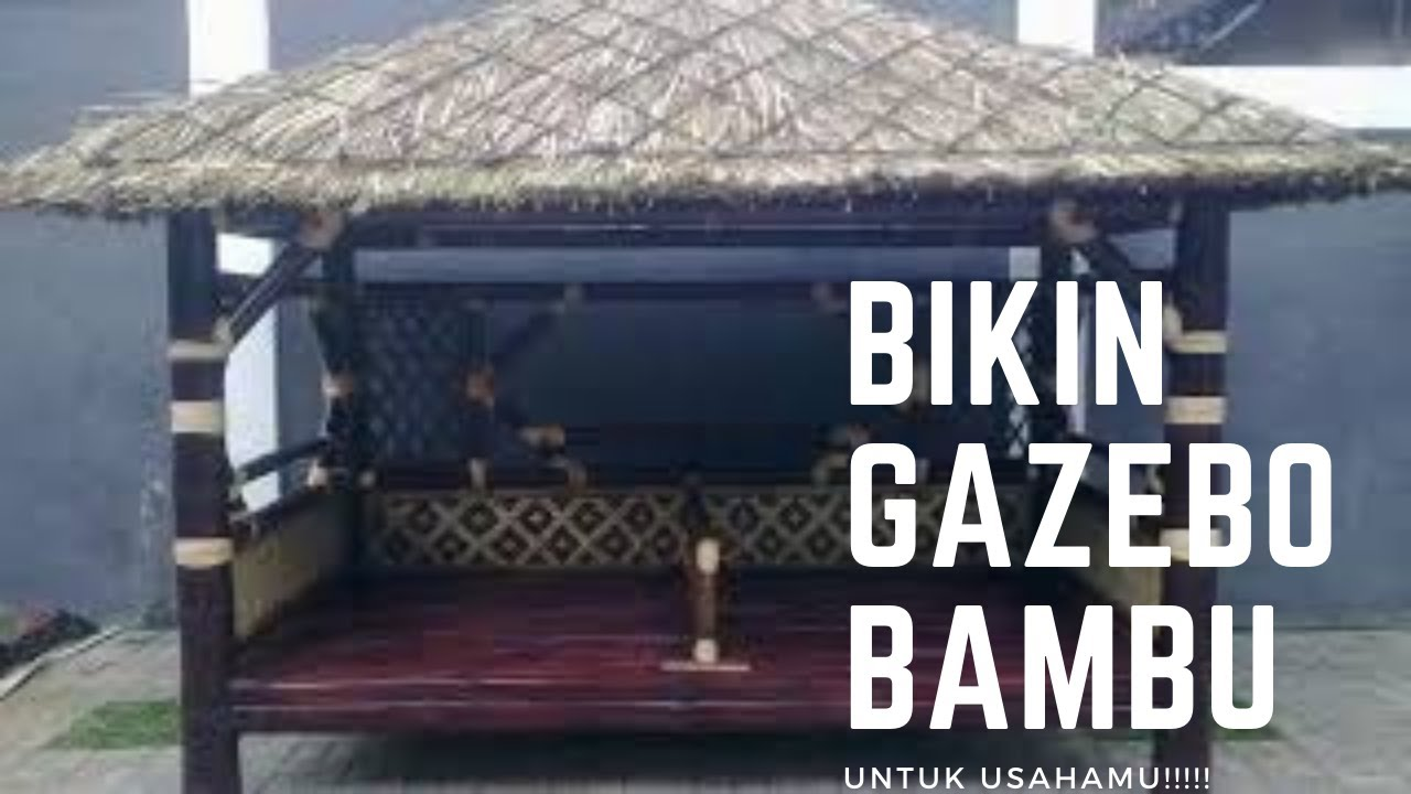 Gazebo Bambu Restoran Gazebo Bambu Cafe Gazebo Bambu Hotel