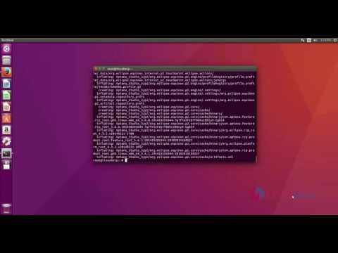 How to install Aptana studio 3 in Ubuntu