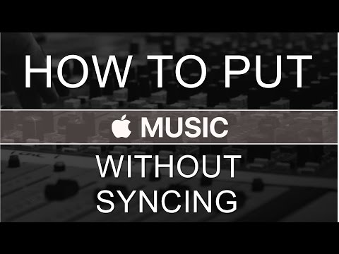 How to put music on iPhone without syncing