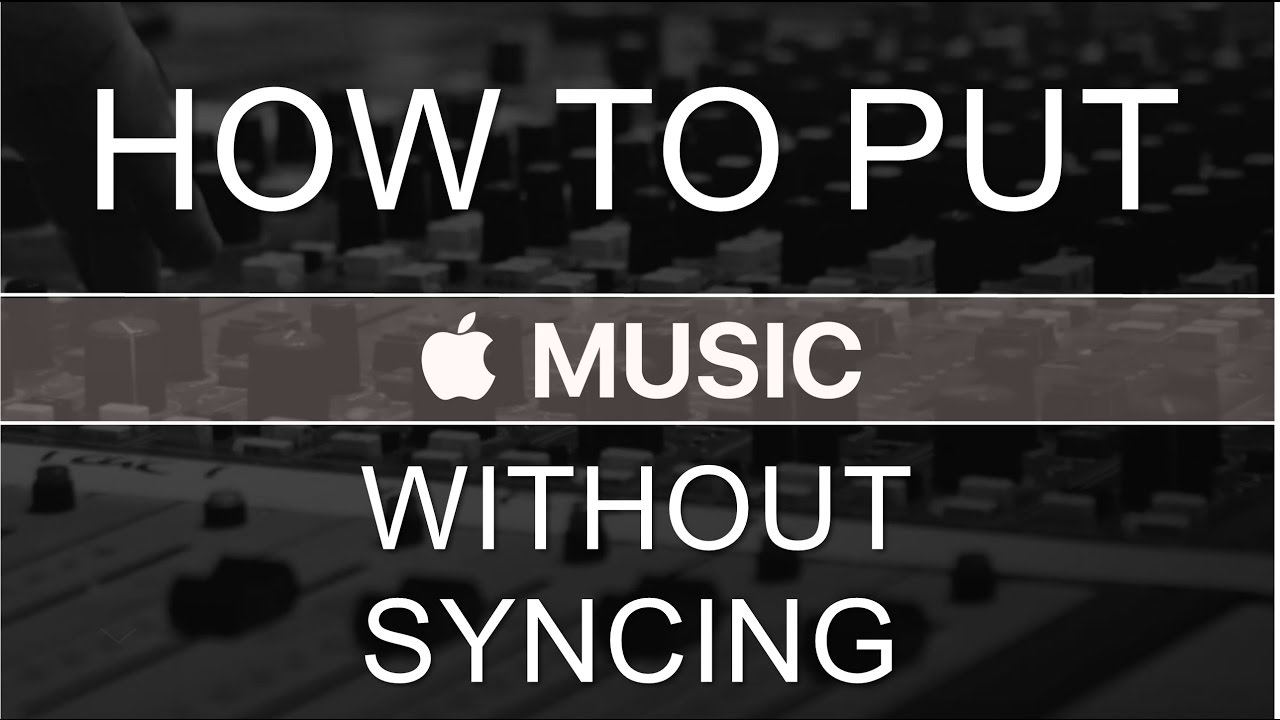 How to add music to iphone without syncing and erasing