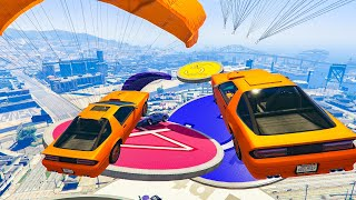 6-Player OVERTIME Rumble Minigame  - GTA V Online Funny Moments | JeromeACE