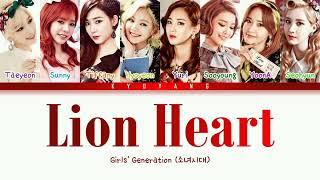 Girls' Generation (소녀시대) - Lion Heart | Color Coded Lyrics […