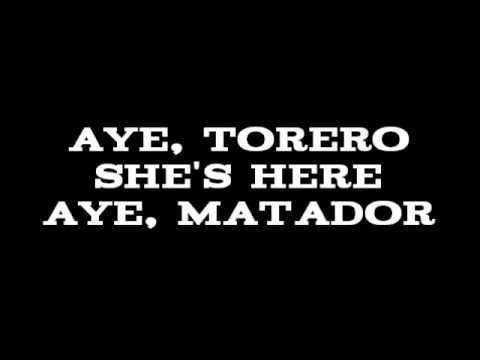 The Kingston Trio - El Matador [Lyrics]