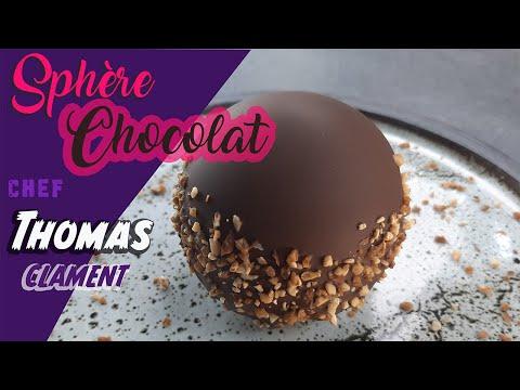 SPHÈRE CHOCOLAT / VANILLE