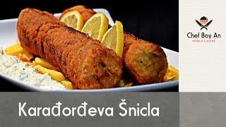 Karadjordjeva Snicla (Devojački San) sa Tartar Sosom - Karadjordje's Schnitzel